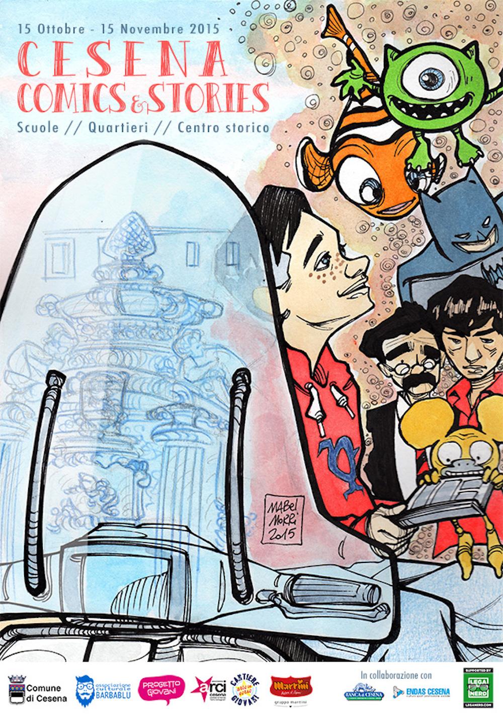 Cesena Comics & Stories 2015