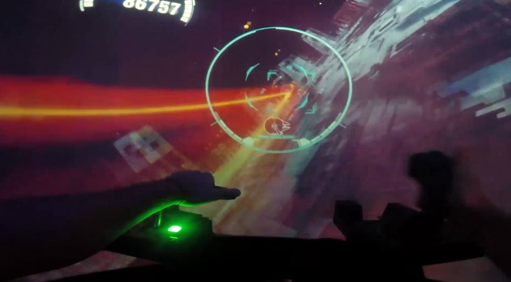 Star Wars Battle Pod Test