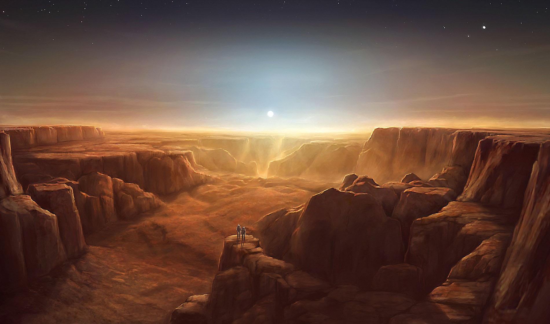 Gli scienziati stanno facendo crescere batteri sulle rocce di Marte