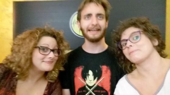 I tre speaker. Mossi, perché non sappiamo fare i selfie.