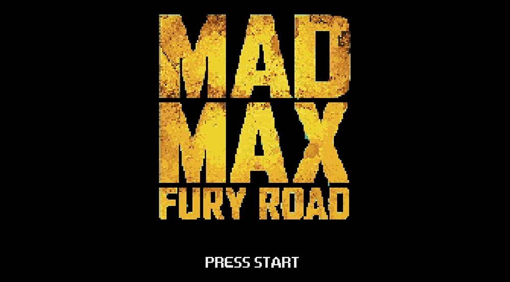 Mad Max: Fury Road - 8 Bit Cinema