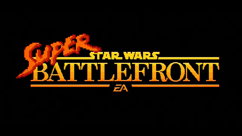 Super Star Wars Battlefront - 16 Bit Trailer
