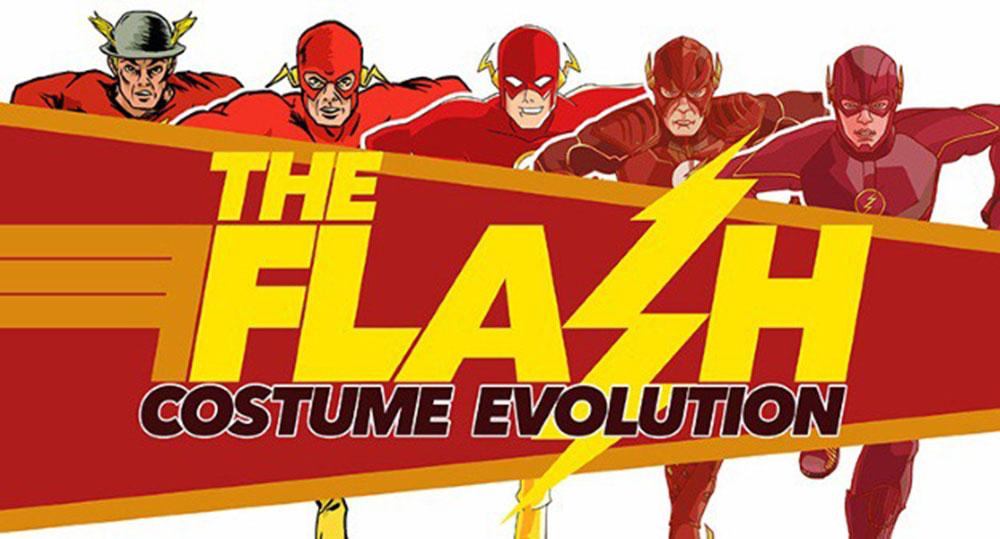 L'evoluzione del costume di Flash