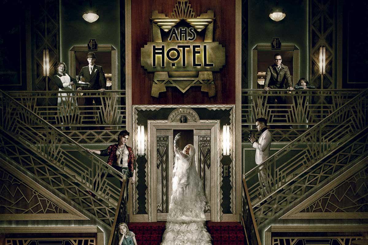 AMERICAN HORROR STORY - HOTEL: RYAN MURPHY E LADY GAGA DA STASERA SU FOX