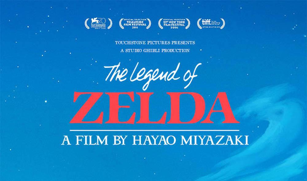 Legend of Zelda di Hayao Miyazaki