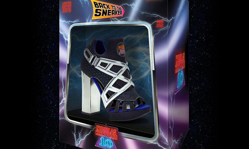 La collezione di scarpe nerd ispirate agli anni '80