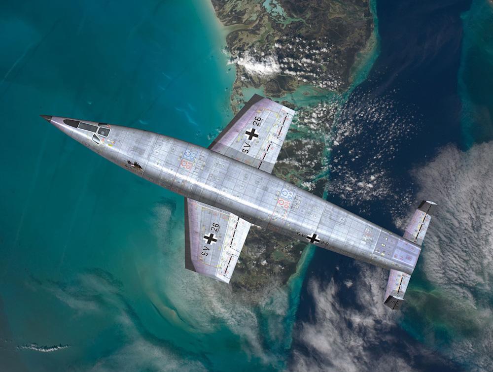 WunderWaffen: il Silbervogel e gli altri Amerika Bomber
