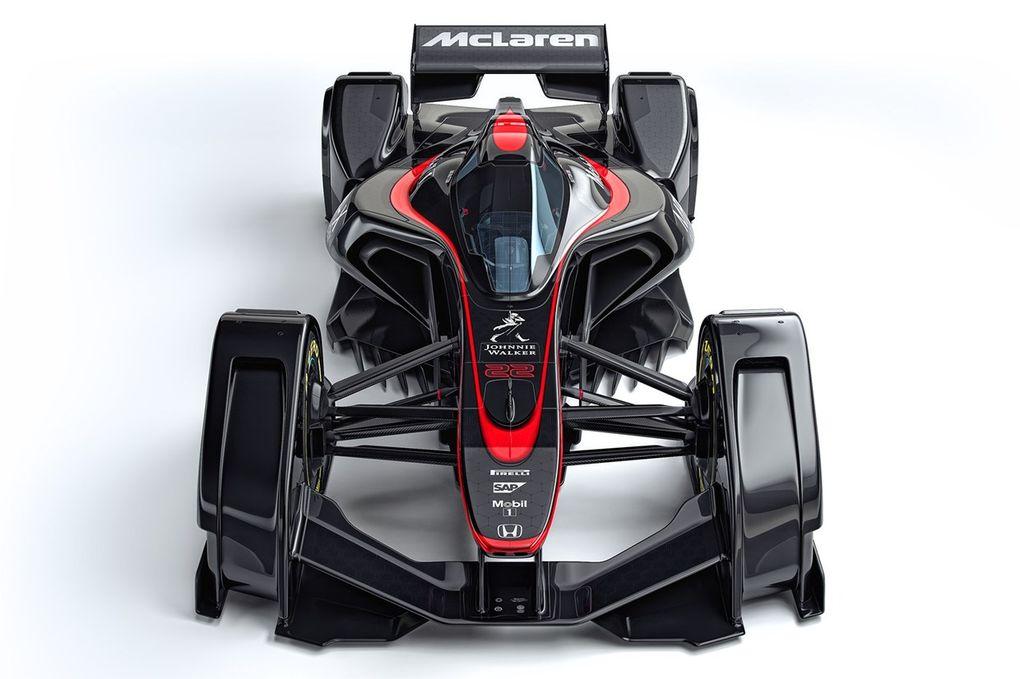 McLaren MP4-X, il futuro della Formula Uno?
