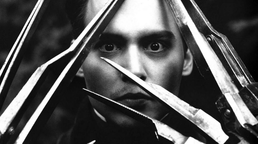 Edward Mani Di Forbice Di Tim Burton