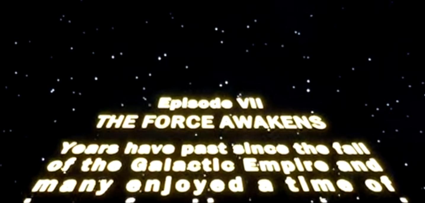 Trapelati i primi due minuti di Star Wars: The Force Awakens