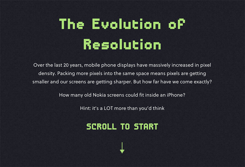 The Evolution of Resolution