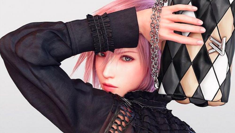 La nuova modella di Louis Vuitton arriva da Final Fantasy