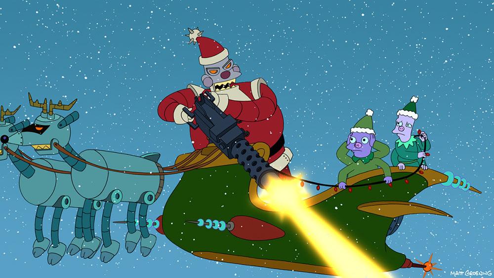 Babbo Natale e le sue Renne Robot