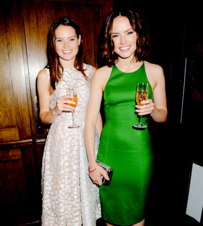 Daisy Ridley con la sorella Kika-Rose.