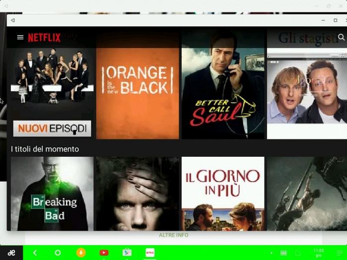 RemixOS - Netflix