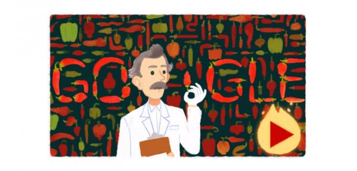 Il doodle di ieri di Google dedicato a Scoville