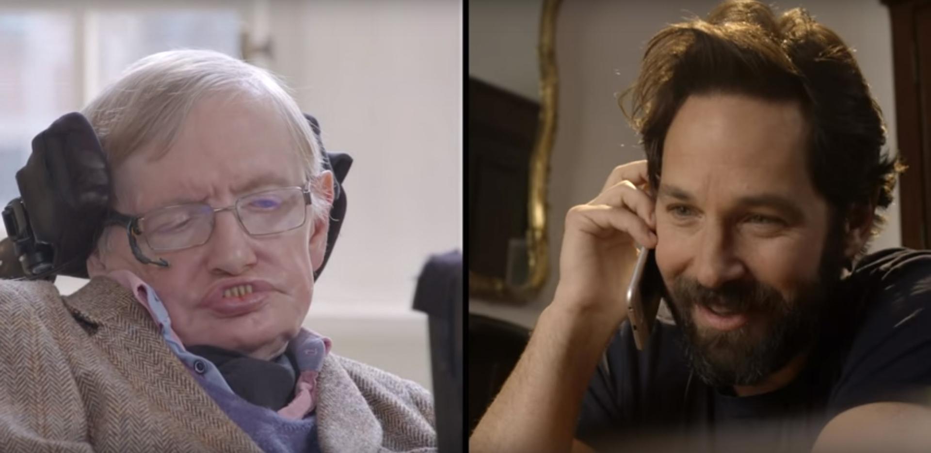Paul Rudd VS Stephen Hawking: la sfida a Quantum Chess