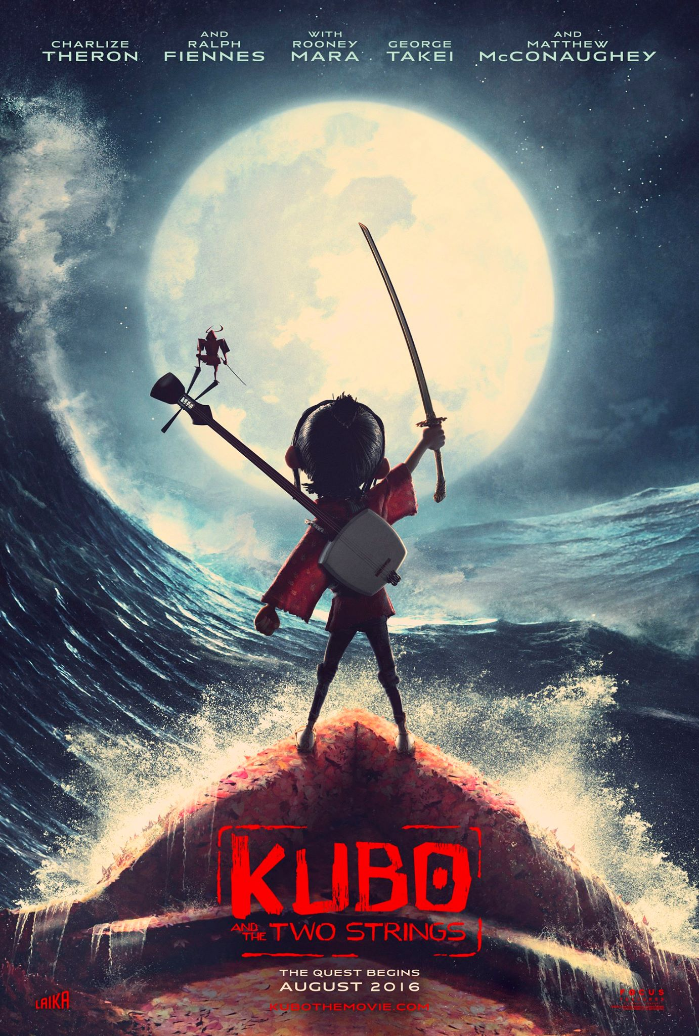 Kubo and the Two Strings - Teaser Trailer