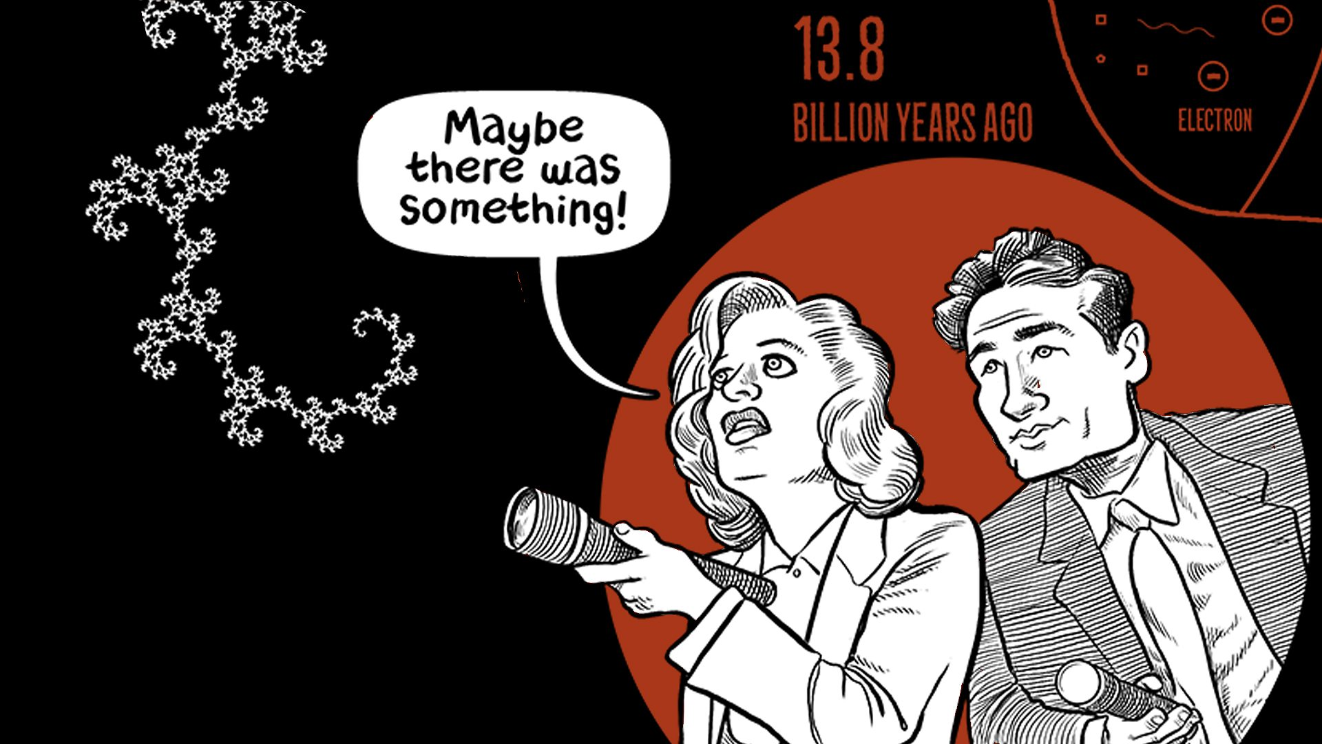 Gillian Anderson racconta il Big Bang