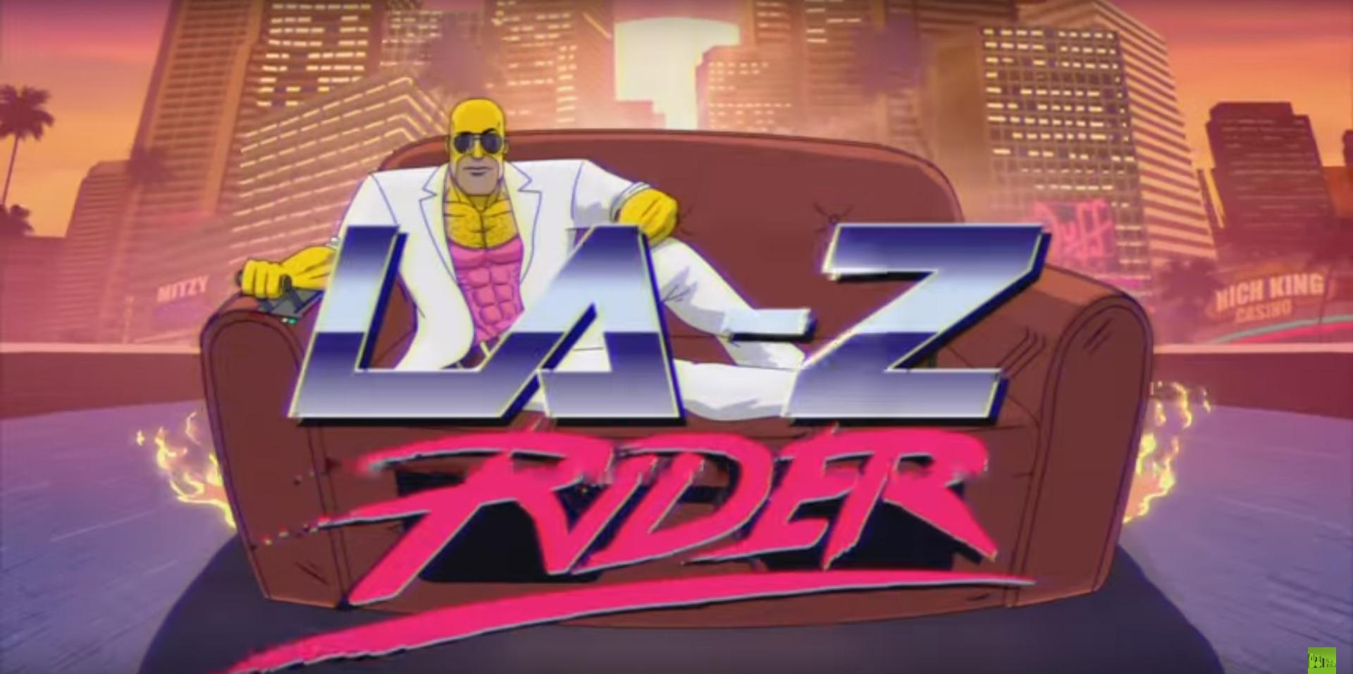 The Simpsons, l'epica gag del divano: LA-Z Rider