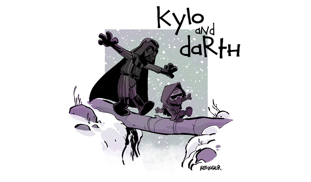 Calvin & Hobbes: The Force Awakens