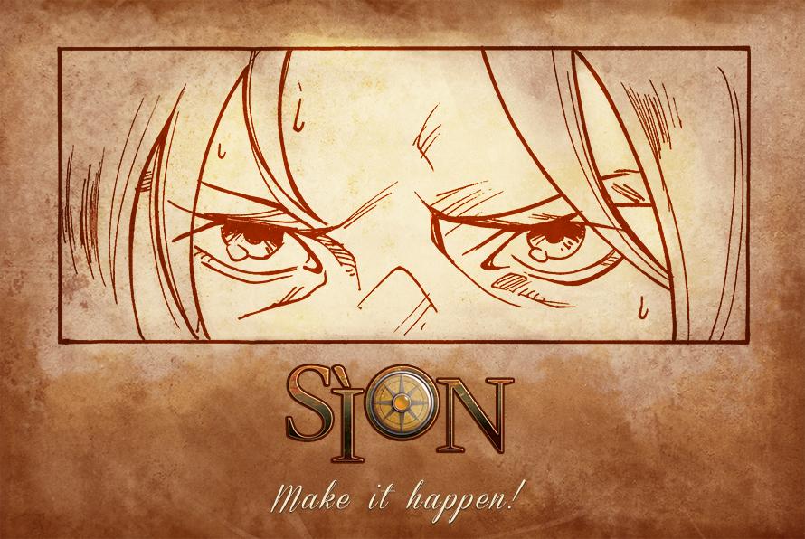 Steampunk e fumetti, Sìon made in Calabria