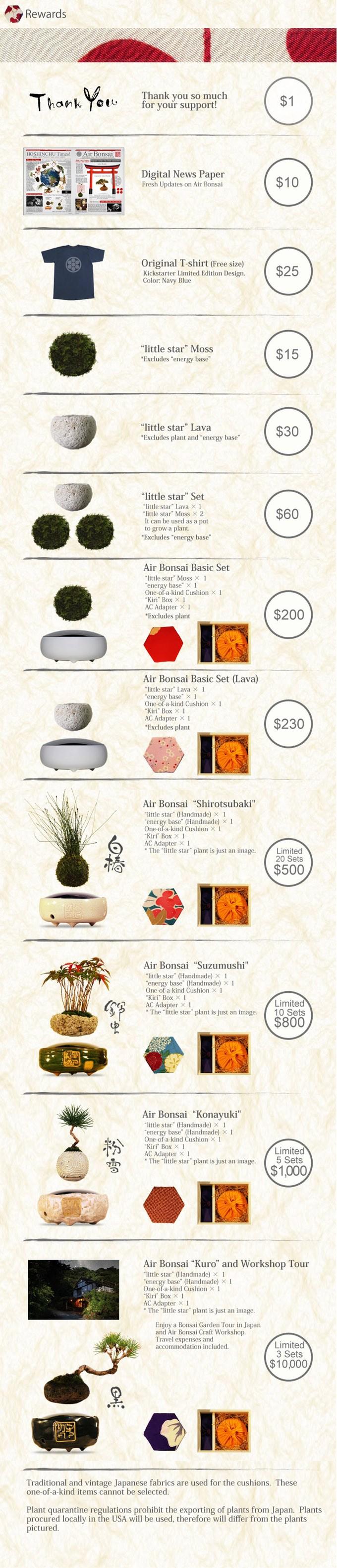 Air bonsai piante fluttanti leganerd for Bonsai comprare
