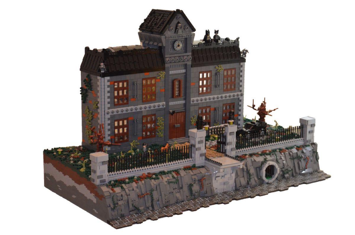 Lego Arkham Asylum, un MOC da record