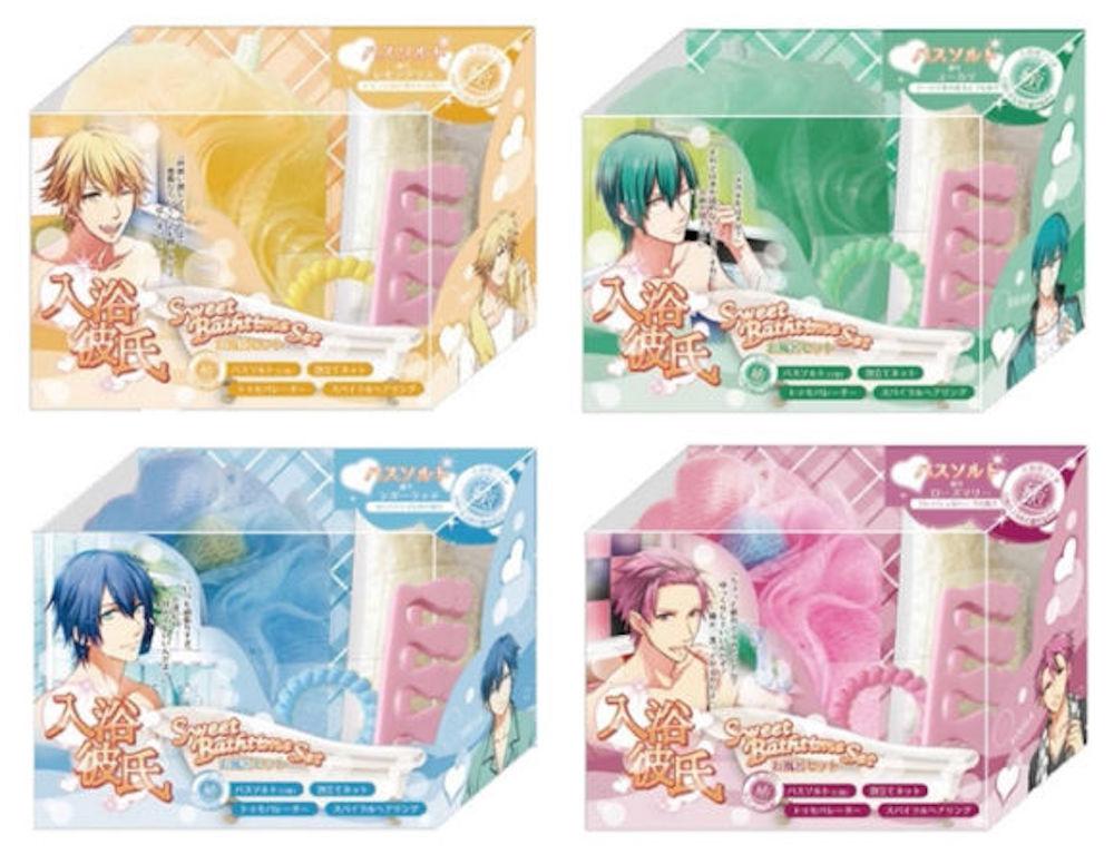 Nyuyoku kareshi, il kit da bagno per le amanti dei manga