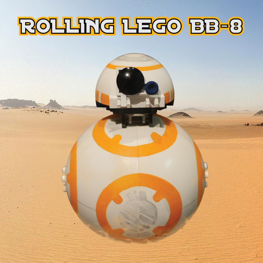 Rolling Lego BB-8