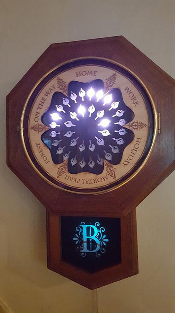 Come costruirsi l'Orologio della Famiglia Weasley, funzionante!