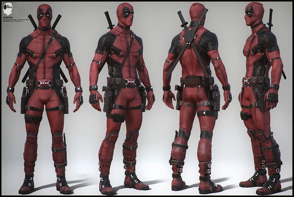 Alessandro Baldasseroni, un talento italiano al servizio di Deadpool