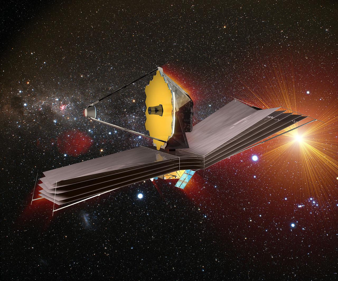 Webb, il più grande telescopio spaziale mai costruito