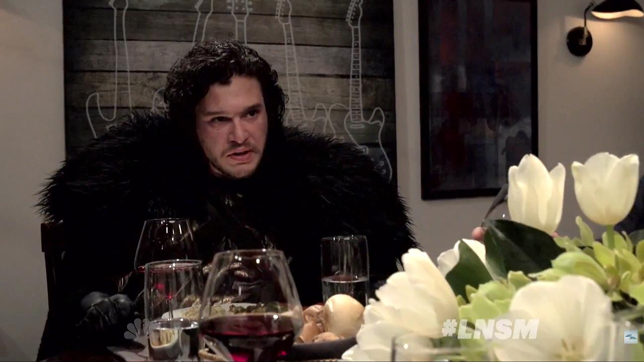 Jon Snow a cena: un vero disastro!