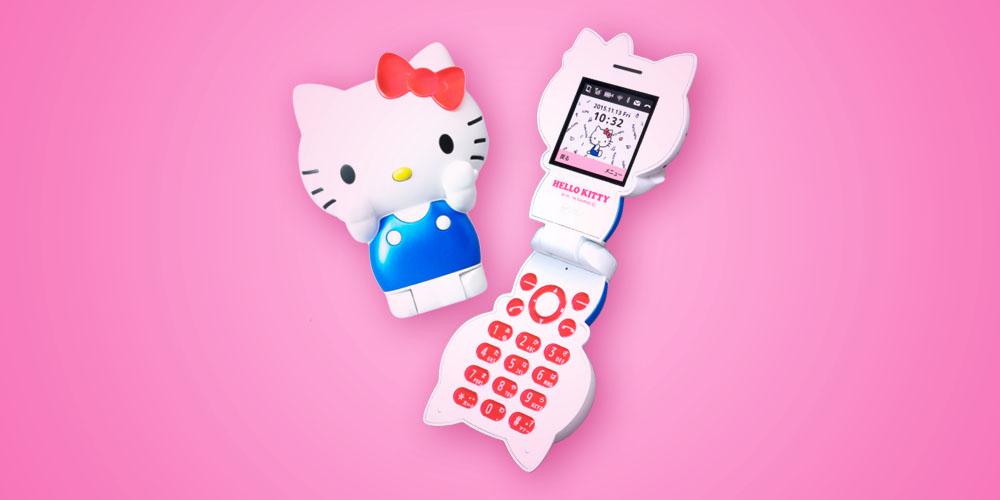 Figurine KT-01, lo smartphone di Hello Kitty