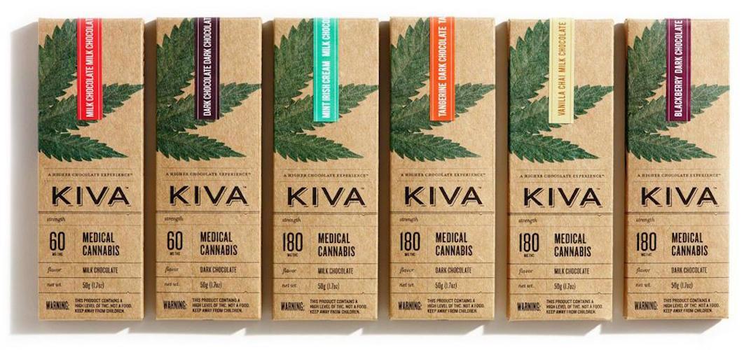 Kiva, la marijuana con un packaging da sballo