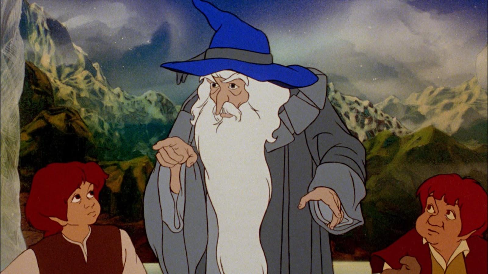Il signore degli anelli cartone animato random movie