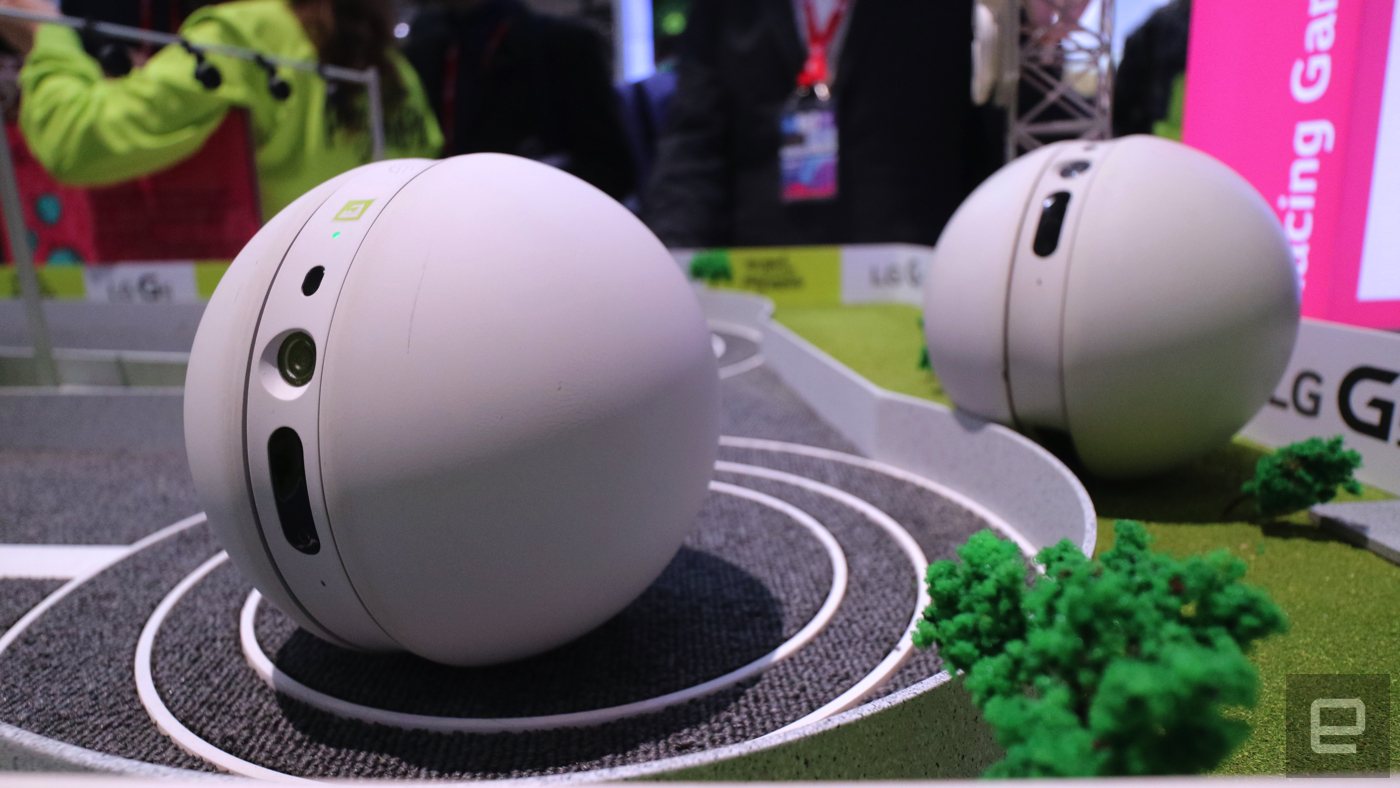 LG presenta il Rolling Bot