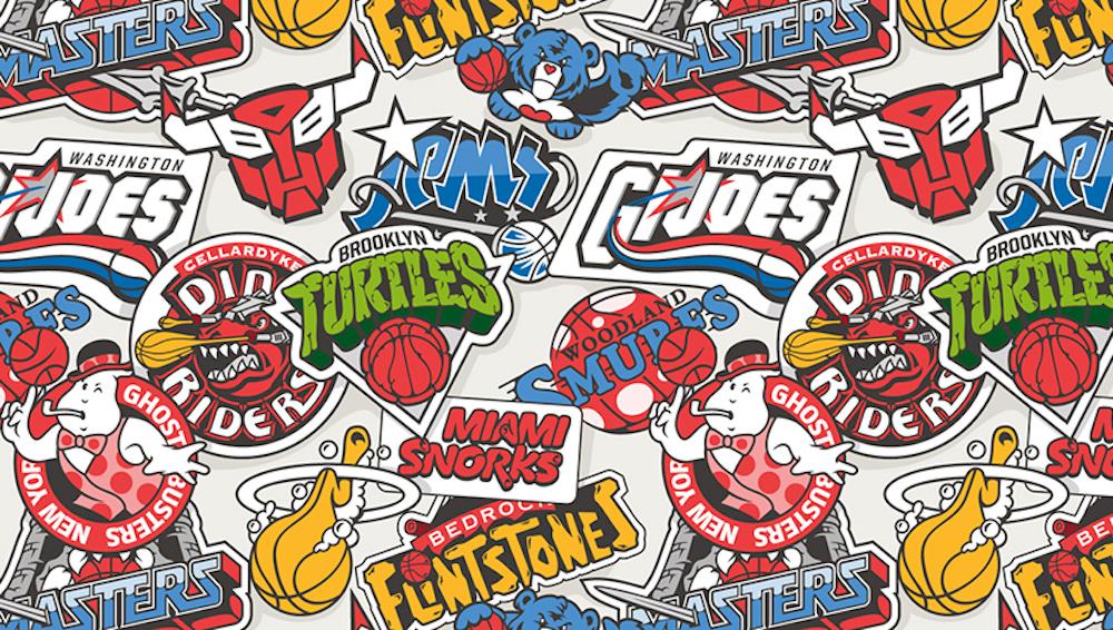 Basketball Teams x 80's Toons