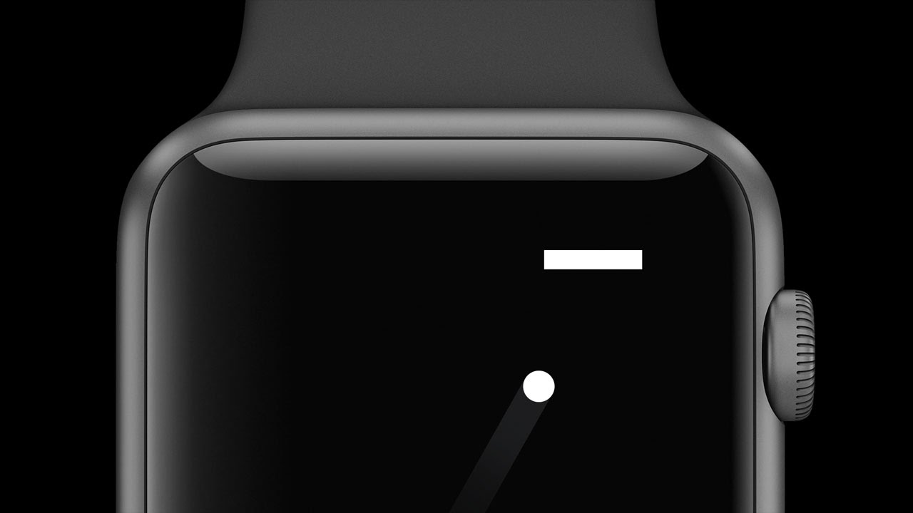 Pong rivive su Apple Watch
