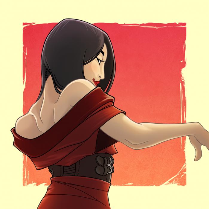 Mei Long in una delle sue evoluzioni