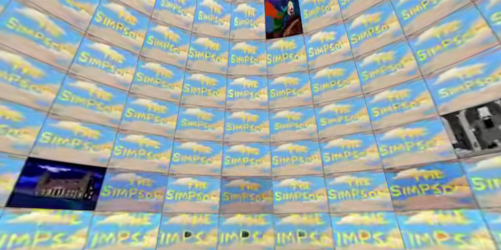 The Simpsons Sphere, 500 episodi in contemporanea in 360VR
