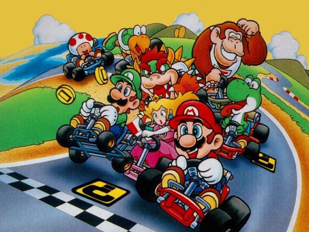 Super Mario Kart con 101 giocatori