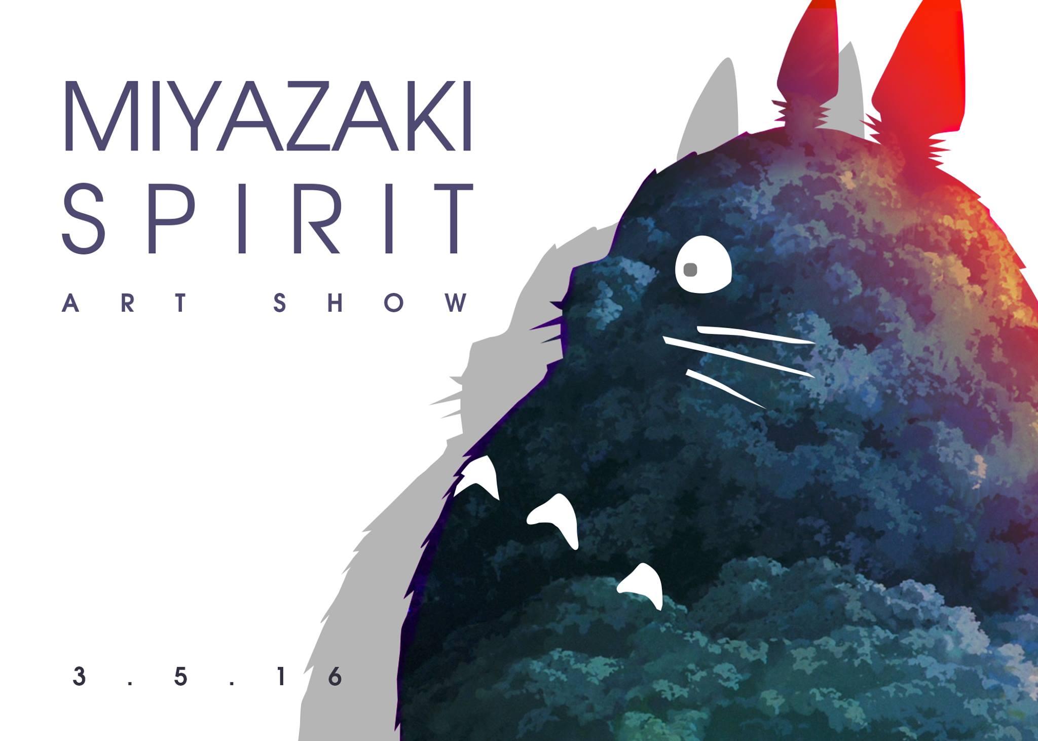 Miyazaki Spirit, la mostra d'arte dedicata allo Studio Ghibli