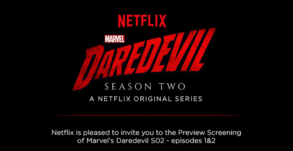 Intervistate Daredevil, The Punisher e Elektra!