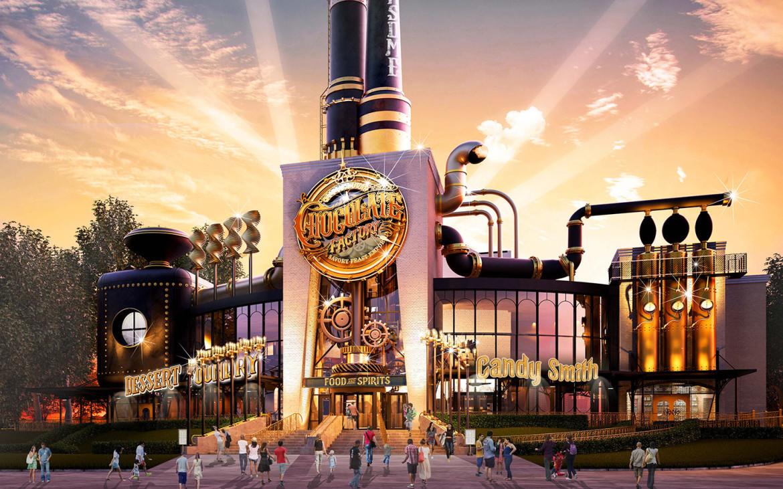 La Fabbrica di Cioccolato di Willy Wonka diventa realtà