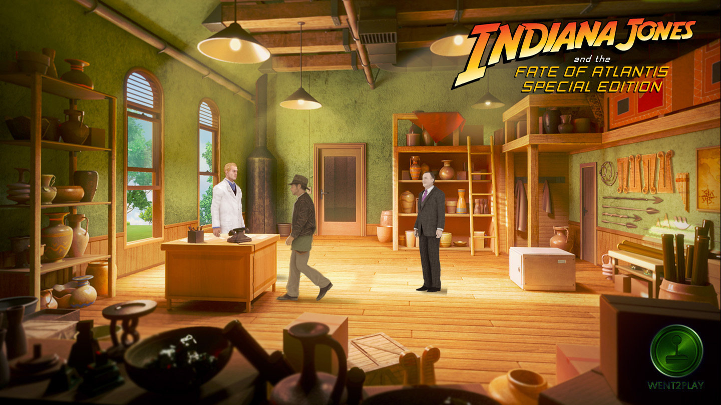 Petizione: Indiana Jones and the fate of Atlantis - Special Edition!