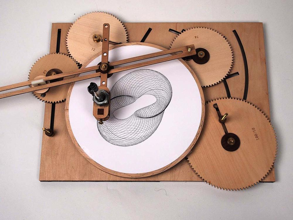 Cycloid Drawing Machine, lo spirografo dalle possibiltà infinite