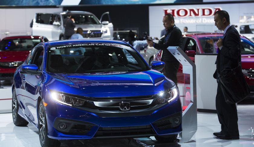 Honda Civic LX - Detroit Auto Show