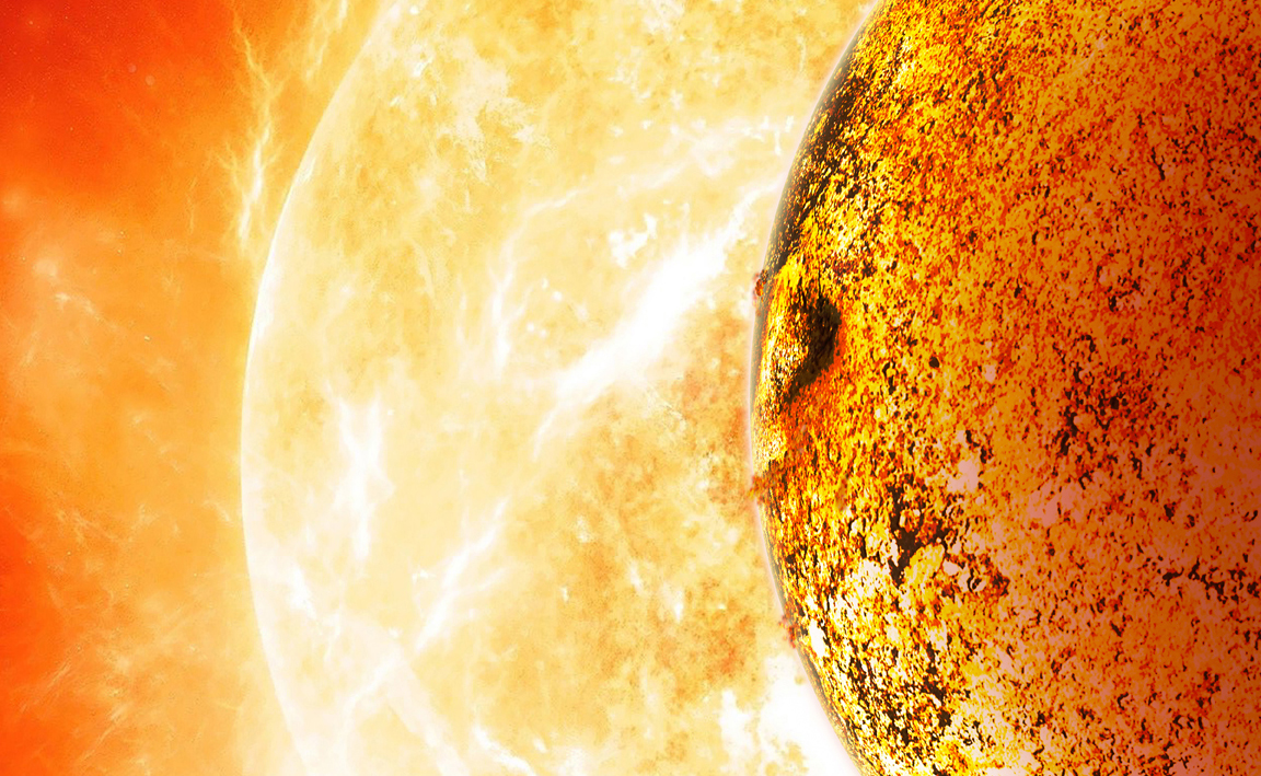 55 Cancri, la Super-Terra con temperature infernali